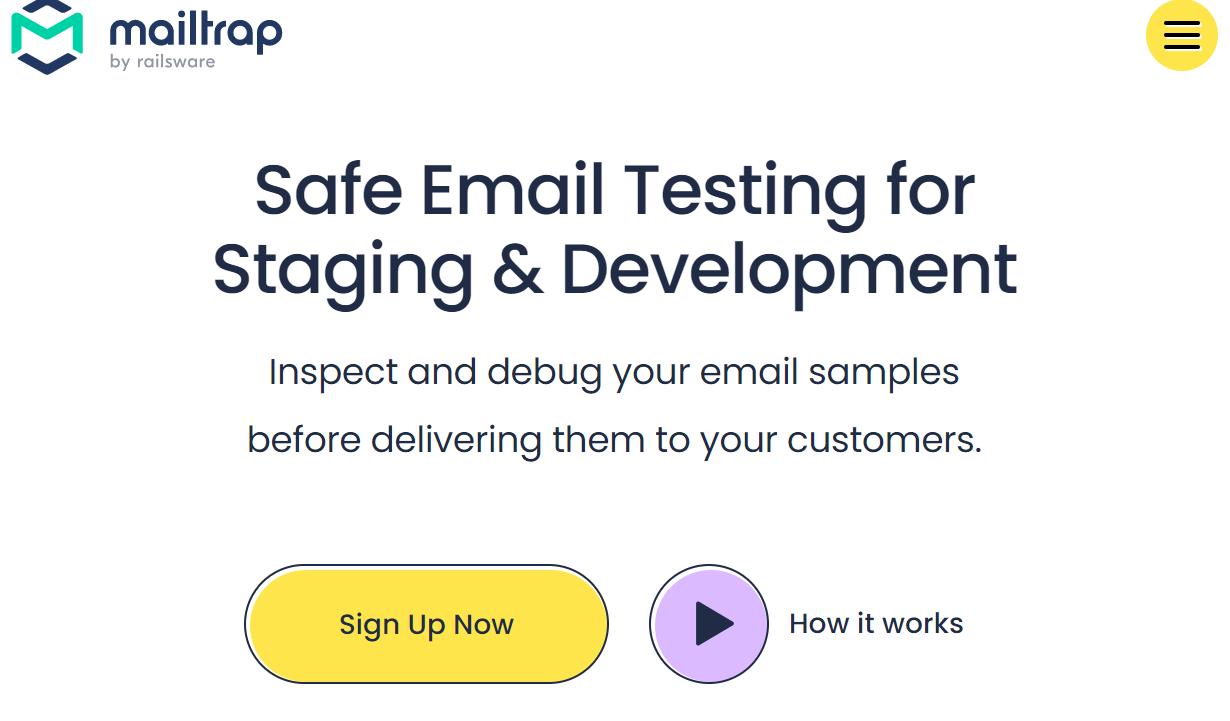 MailtrapをLaravelの開発環境で使用する